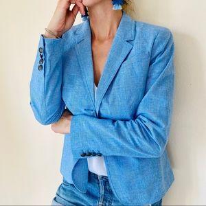 Banana Republic blue blazer jacket